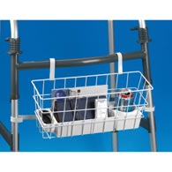 Ableware 703190050 Deluxe Wire Walker Basket with Stabilizing Bars