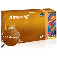 Aurelia Amazing Nitrile Exam Gloves-Box Quantities