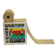 CanDo Latex Free Exercise Bands-50 Yard Rolls
