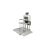 HealthOMeter 2500CKL Digital Wheelchair Scale With Fold-Away Seat