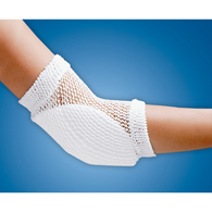 FLA Orthopedics 61-126UNSTD Heel And Elbow Protector Open Mesh-White
