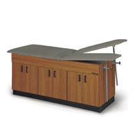 Proteam Split Leg Lift Table w/ Hinged Doors