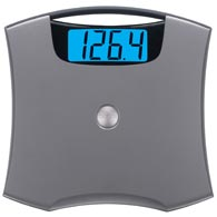 Taylor 7405 440 lbs / 200 kg Capacity Nickel Accented Lithium Scale