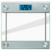 Taylor 7519 Glass Platform Digital 400 lb Bathroom Scale