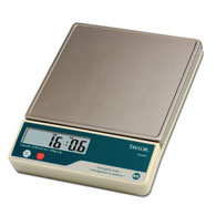 Taylor TE22FT Stainless Steel Portion Control Scale-22 lb/10 kg